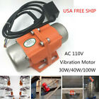 Small Volume AC110V Vibration Motor To Make Concrete Counter Tops / Sieve Screen