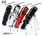 A99 Golf C4 Range Sunday Pencil Carry Bag Removable Top Cover w. Stand
