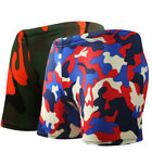 Men Camou Quick Drying Elastic Vacation Boxers Swimwear Trunks Shorts Underpants