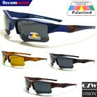 Mens Womens Polarized Sports Outdoor Wrap Driving Running Golf Fish Sunglasses