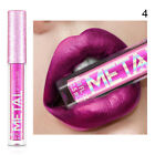 Glitter Metallic Lip Gloss Waterproof Liquid Lipstick Professional Beauty Makeup