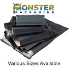 All Size Grey Mailing Bags Postal Postage Post Mail 9x12 10x14 12x16 17x24 55mu