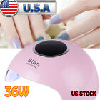 Nail UV Lamp For Manicure 36W LED Lamp For Gels Drying Gel Nail Polish With T99