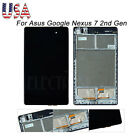 For Asus Google Nexus 7 2nd Gen 2013 LCD Digitizer Touch Screen Replace w/ Frame