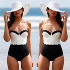 New Women's Swimwear One Piece Swimsuit Monokini Push Up Padded Bikini Bathing