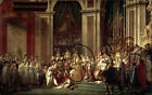Consecration of the emperor napoleon I by Jacques-Louis David fine art on canvas