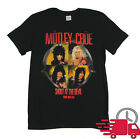 Motley Crue Shout At The Devil 1983-84 Tour Black T Shirt Size S-3XL image