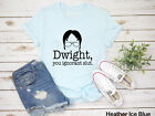Dwight You Ignorant Slut Shirt || Dwight Face Shirt || The Office || Dunder Miff
