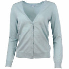 Southern Tide Women's Button V-Neck Cardigan Sweater