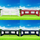Waterproof 3x6M Outdoor PE Garden Gazebo Marquee Canopy Party Tent Canopy 4Clour