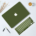 Rubberized Matte Skin Case Cover For MacBook Air Pro Retina  Silicone KB Cover