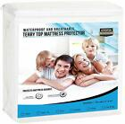 Utopia Bedding Premium Waterproof Mattress Protector - Breathable Fitted Mattres image