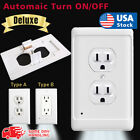 Внешний вид - New Outlet Wall Plate Led Night Light Guidelight Cover Built in Sensor Deluxe