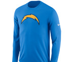 Los Angeles Chargers Mens Nike Logo Dri-Fit Cotton L/S T-Shirt - XXL - NWT $27.99 USD on eBay