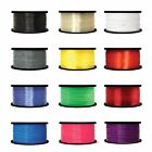 3D Printer Filament 1.75mm ABS ABS+ PLA PLA+ PETG 1kg 2.2lb Black Wgite BA