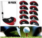 Golf Iron Covers 10Pack Club Head Covers Home Practice New Gift Finger Ten AU