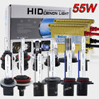 55W Car SLIM HID CONVERSION KIT 2 Ballasts 2 XENOB Bulbs HEADLIGHTS FOG LIGHT PZ $28.33 CAD on eBay