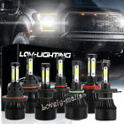 6000K White 1900W 285000LM LED Headlight Kit H4 H7 H8/9/11 H13 9005 9006 9007 $24.02 CAD on eBay