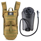 Tactical Hydration Pack Water Backpack with 3L Bladder Military Camping Camelbak
