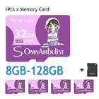 8 16 32 64 128GB Micro SD Memory Card High Speed And Large Storage Class10 JJ