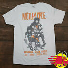 Motley Crue T-Shirt World Tour Tee Rock Band T-Shirt Vintage Inspired Size S-3XL image