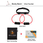 NEW Women Booty Butt Band Workout Resistance Belt,Tone Firm Fitnesss Exercise