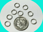 Sterling silver 925 jump rings 10,25,50,100,200 pieces 18 gauge 7mm  USA