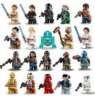 New Star Wars Minifigures Han Solo Obi Wan Darth Vader Luke Yoda Sith Clone R2D2 $2.49 USD on eBay