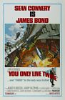 "You Only Live Twice (1967) Movie Silk Fabric Poster 24""x36"" 11""x17"" $11.34 CAD on eBay"