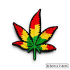 Music Reggae Punk Rock Embroidered Patch Iron On Sew On Badge Fabric Applique