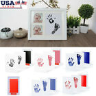 Baby Newborn Handprint Footprint Imprint Touch Ink Pad Photo Frame Souvenir US