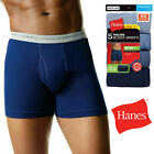 HANES BOXER BRIEFS 5-PACK UNDERWEAR FOR MENS ASSORTED COLORS TAGLESS S-XL