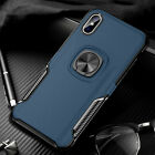 For iPhone 6s 7 8 Plus XS Max XR Case Magnetic Hybrid TPU Rugged Bumper Cover