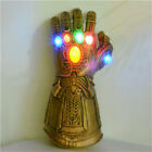 Avengers 3 Infinity War Infinity Gauntlet LED Light Thanos Gloves Cosplay Prop c