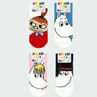 Moomin Socks 4 Pairs set Womens Ladies Cute Ankle Socks Korean Fashion