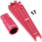 Hexagon Sleeve Wrench Screw Measuring Car Height Ruler Tool for RC Car Accs