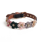 Leather Pet Dog Collar Safety Adjustable Puppy Cat Necklace For Dogs Pet Collar