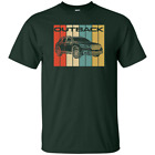 2019 Subaru Outback T-Shirt Retro Off Road AWD Graphic Tee