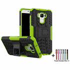 """For Asus Zenfone 3 max 5.2"""" 5.5"""" Slim Rugged Armor Kickstand Phone Case Cover US"""