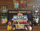 Topps Match Attax 101 Cards, Buy 2 Get 8 Free, 100 Club, Limited Edition, Messi