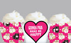Guinea Pig Hamster Pet Birthday Party Wraps Cupcake Cases Wrappers Cup Cake