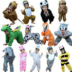 Kids Animal Costume Cosplay Dinosaur Tiger Elephant Halloween  Jumpsuit