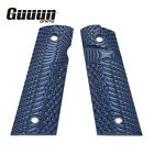 Guuun G10 Grips for Full Size 1911 Magwell Grip Ambi Safety Cut OPS TexturePistol - 73944