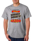 Bayside Made USA T-shirt I Might Be Wrong But Doubt It I'm Jason