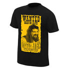 "Cactus Jack ""Wanted"" Retro T-Shirt <br/> Official eBay store of WWE"