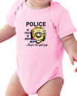 Infant creeper bodysuit Police They're The Good Guys No Police No Order