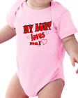 Infant creeper bodysuit One Piece t-shirt My Aunt Loves Me