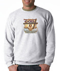 Gildan Long Sleeve T-shirt Christian Power Comes From God Weightlifting Cross