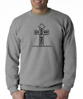 Gildan Long Sleeve T-shirt Christian One Way His Way Sign Jesus