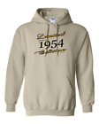 Limited Edition Made In 1954 Birthday Gildan Pullover Hooded Hoodie Sweatshirt